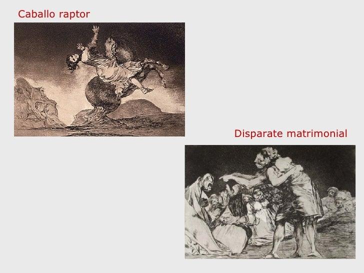 Caballo raptor Disparate matrimonial
