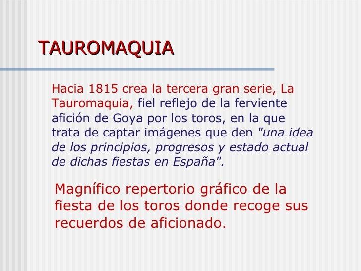 TAUROMAQUIA Magnífico repertorio gráfico de la fiesta de los toros donde recoge sus recuerdos de aficionado.   Hacia 1815 ...