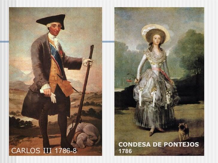 CARLOS III  1786-8 CONDESA DE PONTEJOS  1786