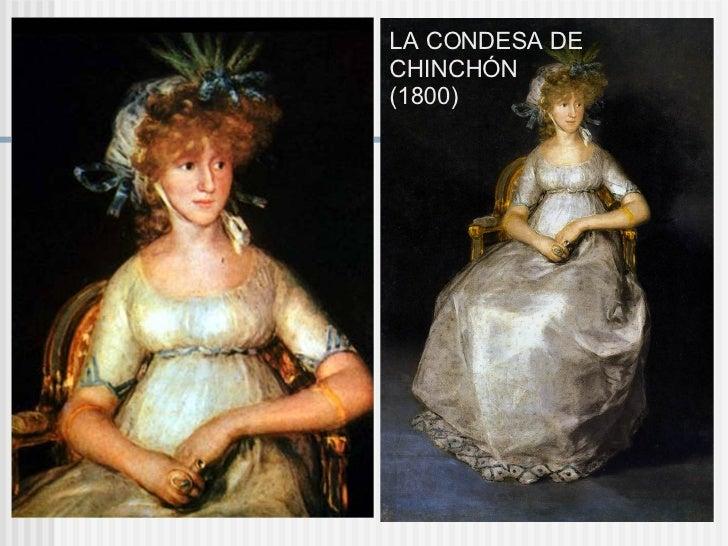 LA CONDESA DE CHINCHÓN (1800)