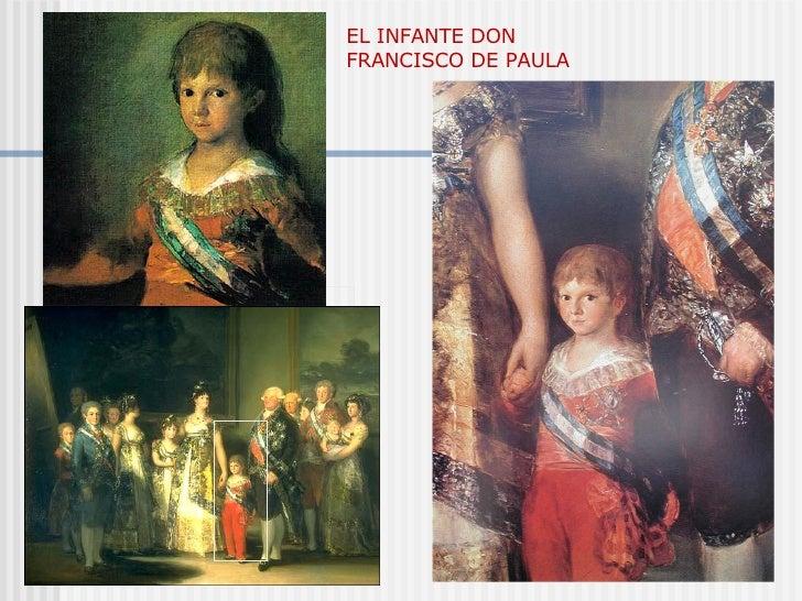 EL INFANTE DON FRANCISCO DE PAULA