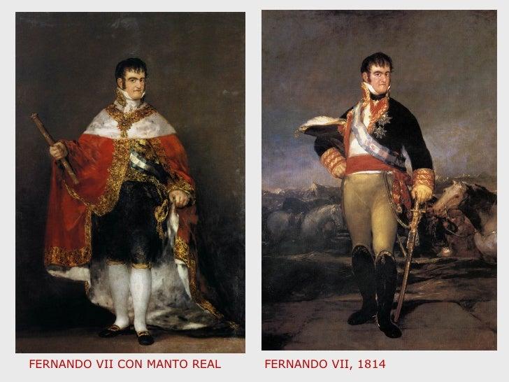 FERNANDO VII CON MANTO REAL FERNANDO VII, 1814