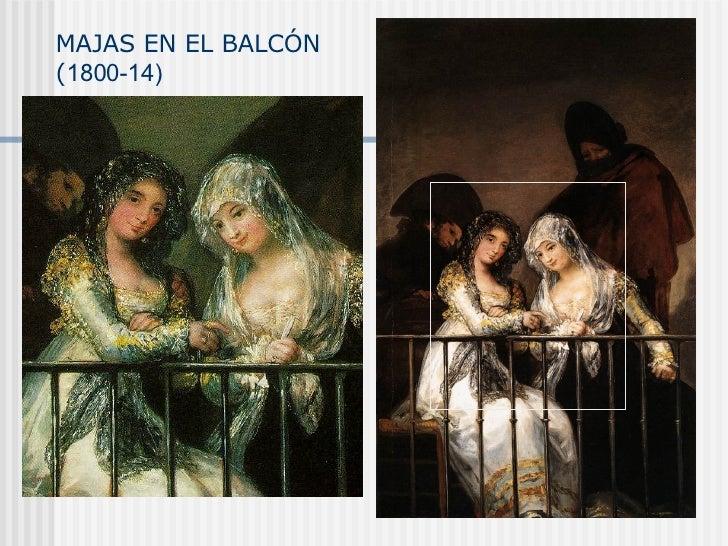 MAJAS EN EL BALCÓN ( 1800-14)