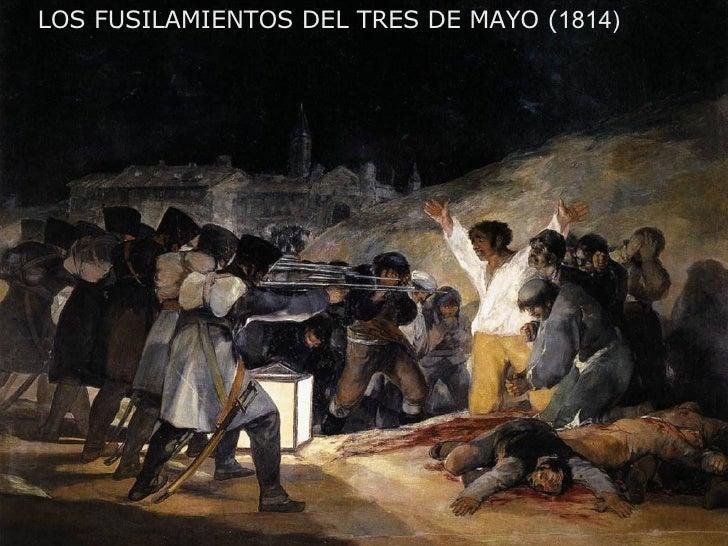 LOS FUSILAMIENTOS DEL TRES DE MAYO ( 1814)
