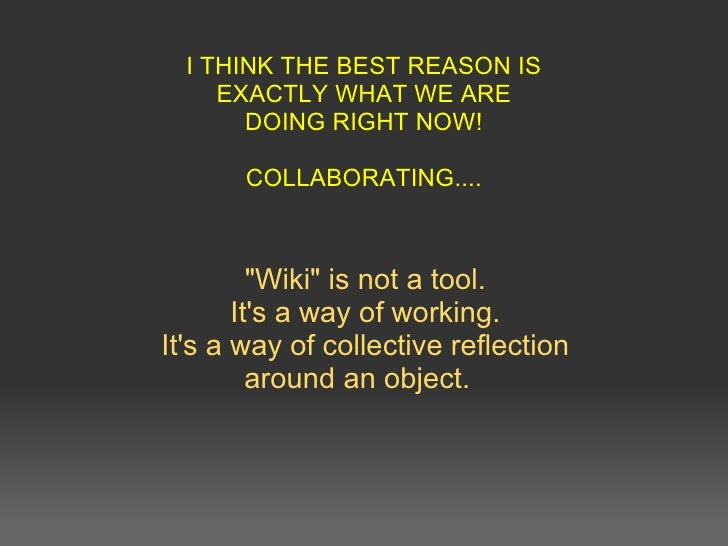18 interesting ways_to_use_a_wiki_in_the_class Slide 2