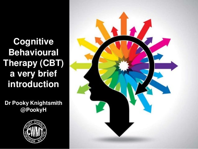 Cognitive Behavioural Therapy (CBT) a very brief introduction Dr Pooky Knightsmith @PookyH