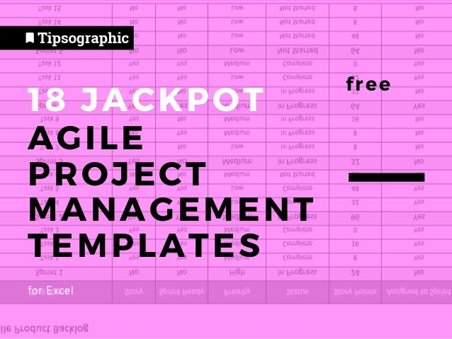 15+ Agile Project Management Templates in Excel, Free and Tested → h…