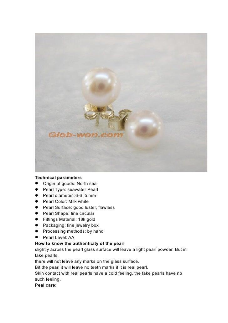 Technical parameters Origin of goods: North sea Pearl Type: seawater Pearl Pearl diameter :6-6 .5 mm Pearl Color: ...