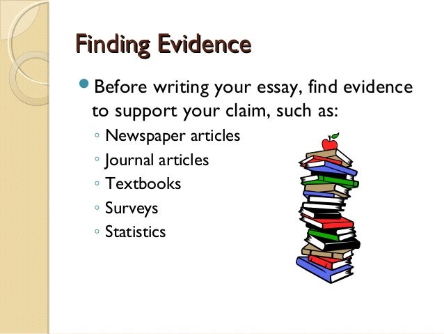 Supporting Evidence Essay Writing - image 8