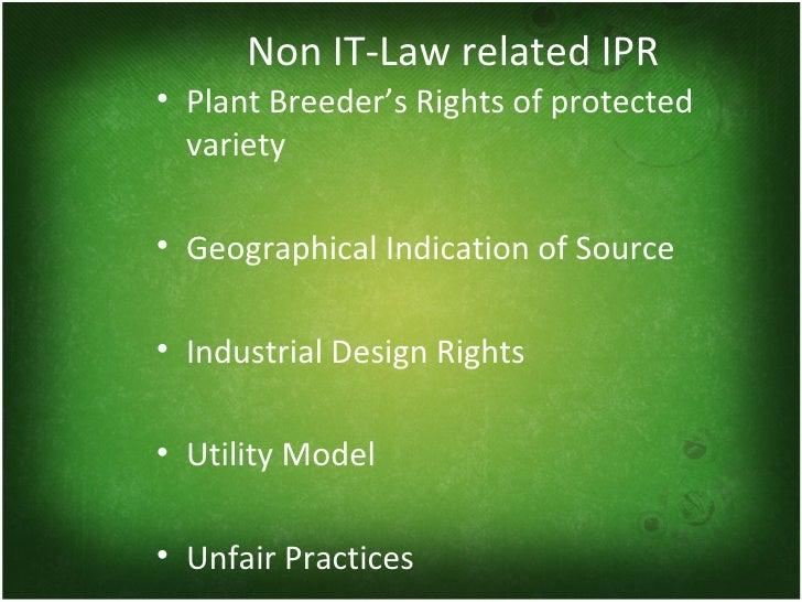 Define Intellectual Property Legislation