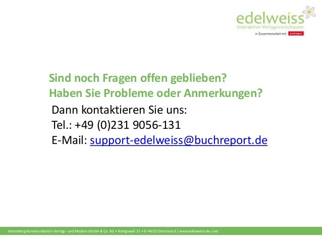 Harenberg Kommunikation Verlags- und Medien GmbH & Co. KG • Königswall 21 • D-44137 Dortmund | www.edelweiss-de.com Sind n...
