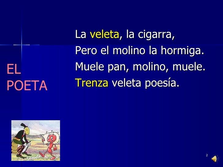 Poesía para jóvenes Slide 2