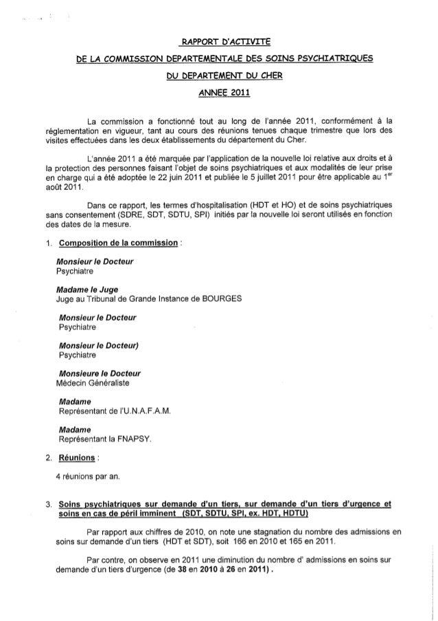 18 rapport activité cdsp 2011