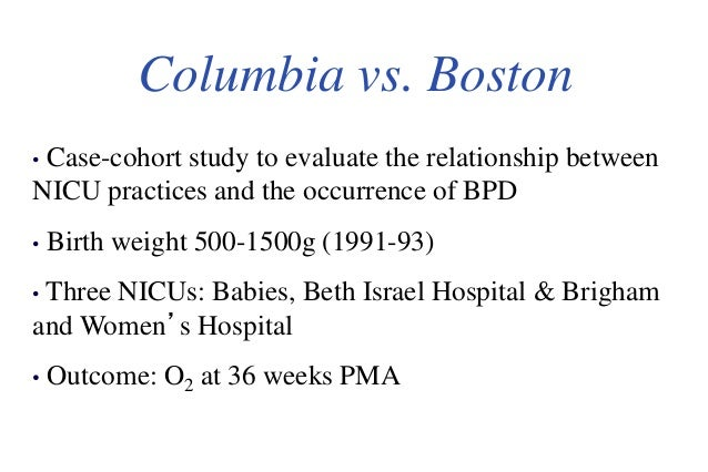 Bronchopulmonary dysplasia in a premature infant--case ...