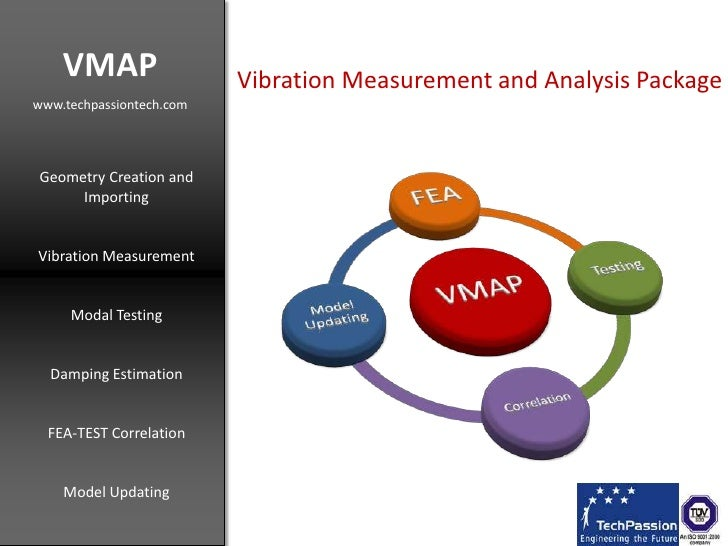 VMAP<br />www.techpassiontech.com<br />Vibration Measurement and Analysis Package<br />Geometry Creation and Importing<br ...