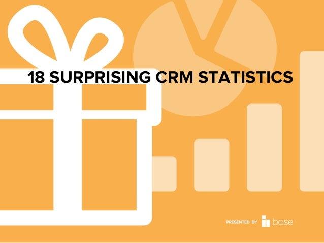 18 SURPRISING CRM STATISTICS