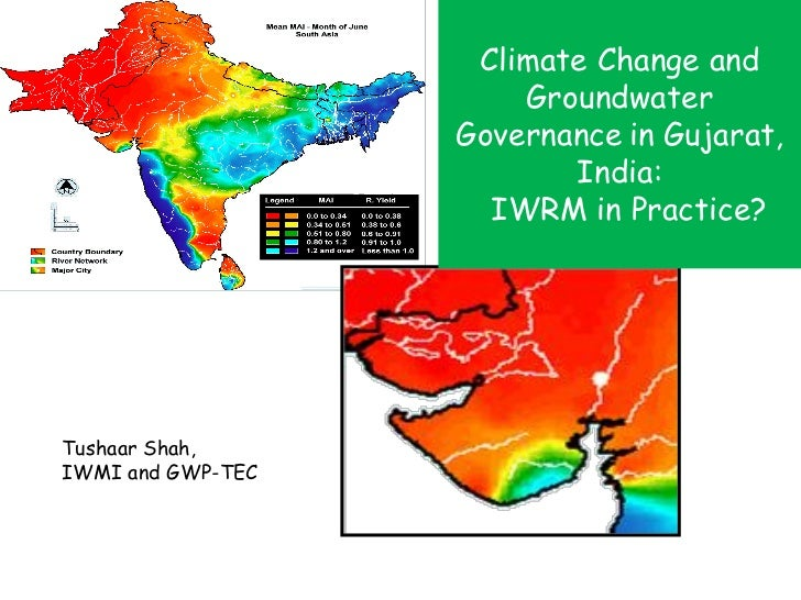Climate Change and                       Groundwater                   Governance in Gujarat,                          Ind...