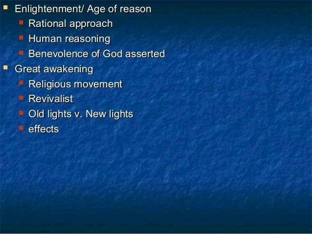 Enlightenment in colonial society essay