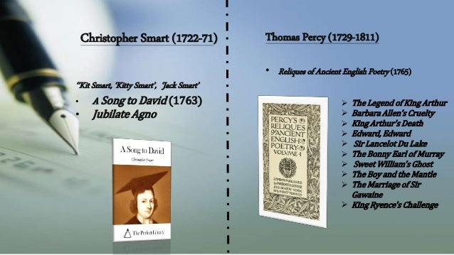 John Dyer (1699-1757)  • 'The Fleece'  • 'Grongar Hill' (1726)  Robert Burns(1759-96)  O my Luve's like a red, red rose  T...