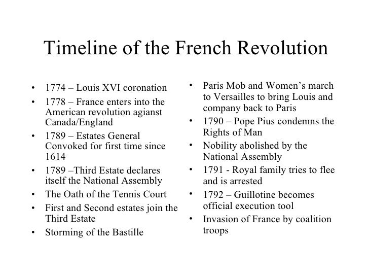 an overview of the french revolution during the 18th century Back in 18th century france, a majority of the population devoted  in the  introduction, the aston describes how during the actual revolution.