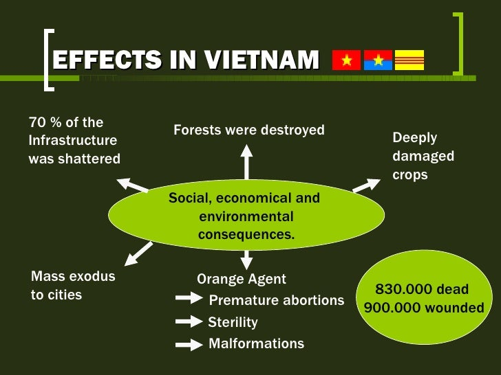 domestic effects of the vietnam war The vietnam war had several effects on the us economy the requirements of the war effort strained the nation's production capacities, leading to imbalances in the.