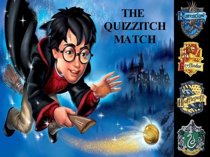 THE  QUIZZITCH MATCH