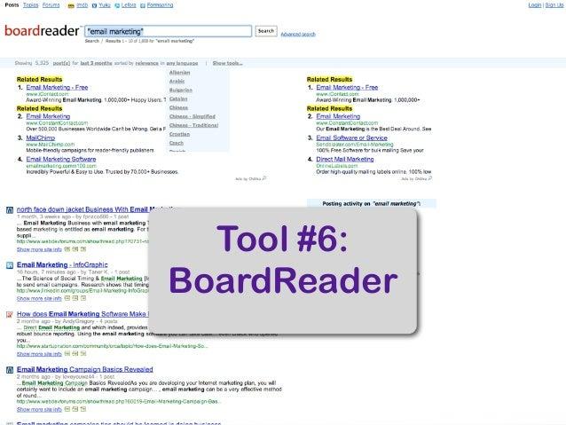 Top 18 Sales & Marketing Tools