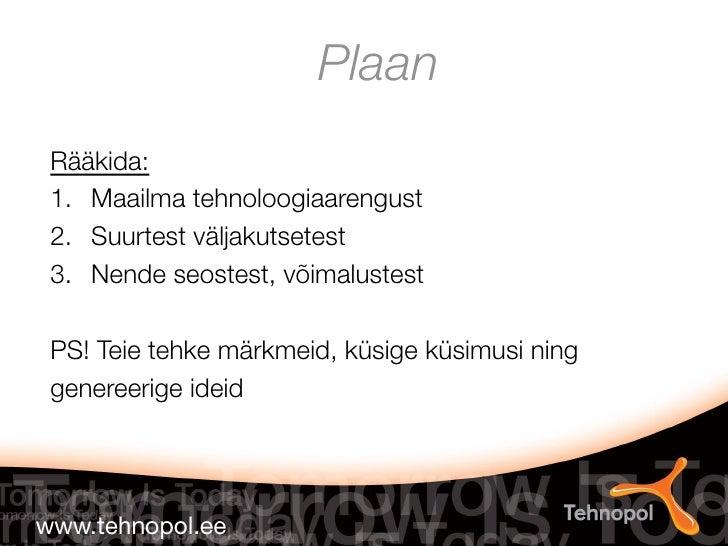 19.10.2011 ajujaht keynote, raido pikkar  Slide 2