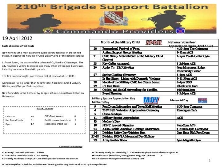 19 April 2012                                                                                         Month of the Militar...
