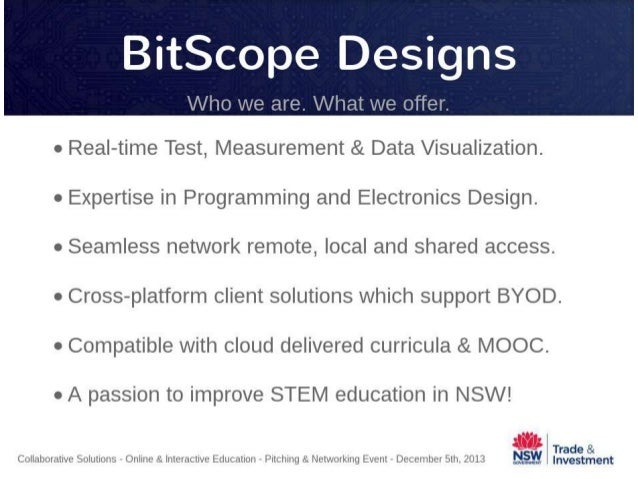 CS Education Event - Bitscope Designs