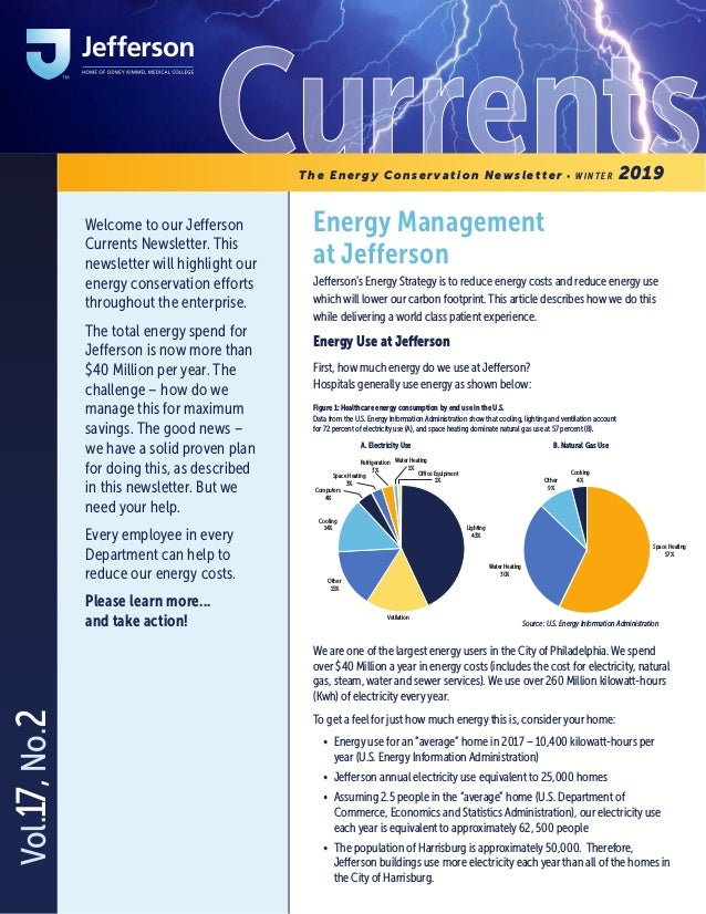 CurrentsEnergy Management at Jefferson Jefferson's Energy Strategy is to reduce energy costs and reduce energy use which w...