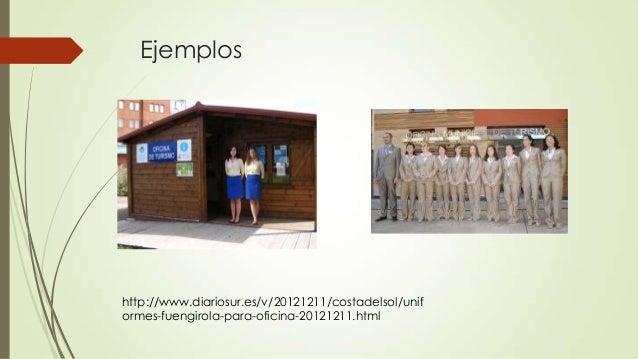 19 uniforme y equipamiento de los trabajadores for Oficina de empleo fuengirola
