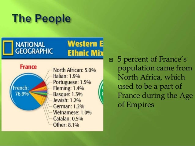  Yet, Germanys population is not as diverse as that of the USA.