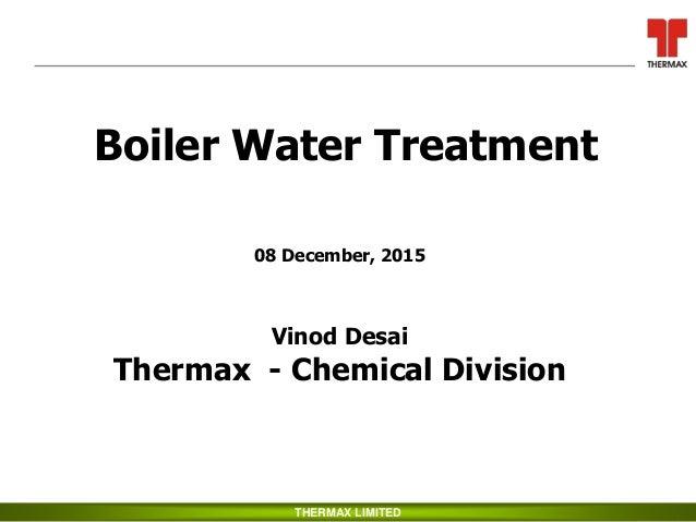 Boiler Water Treatment ~ Boiler water treatment