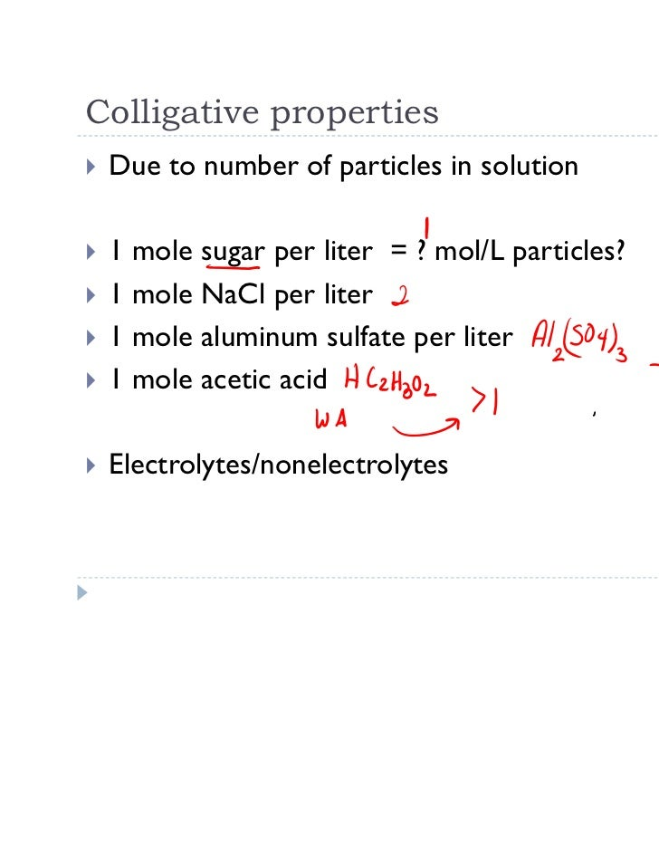 19 1523212011 colligative properties – Colligative Properties Worksheet