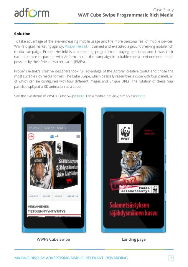 wwf case study World wide fund for nature wwf harvard case study solution and analysis of harvard business case studies solutions – assignment helpin most courses studied at harvard business schools.