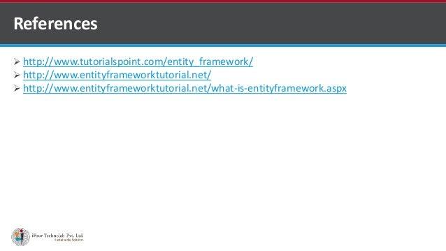 what is entity framework