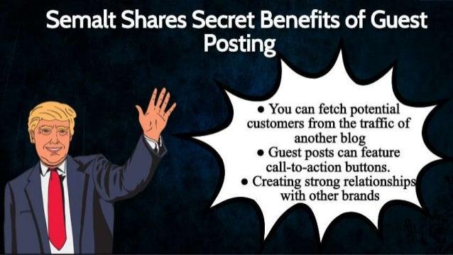 Semalt Unveils Benefits of Guest Posting