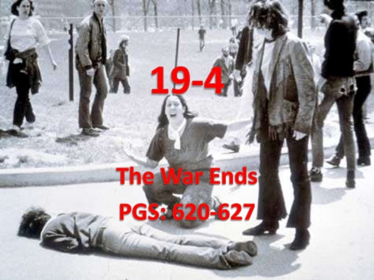 19-4 <br />The War Ends<br />PGS: 620-627<br />