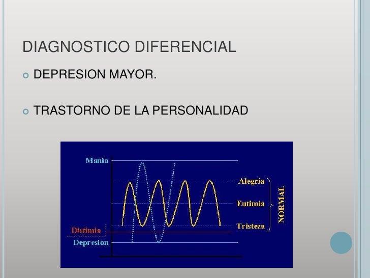 DIAGNOSTICO DIFERENCIAL<br />DEPRESION MAYOR.<br />TRASTORNO DE LA PERSONALIDAD<br />