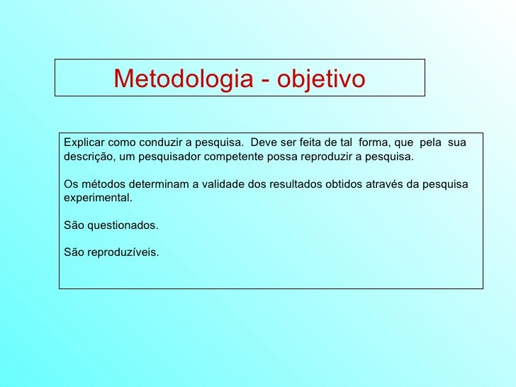 19 elaboração da metodologia Slide 2