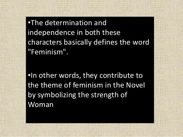 an analysis of the theme of feminism in the novel the scarlet letter by nathaniel hawthorne Women's role in the scarlet letter  nathaniel hawthorne  because of the womens rights movement taking off during the time period that he wrote this novel.