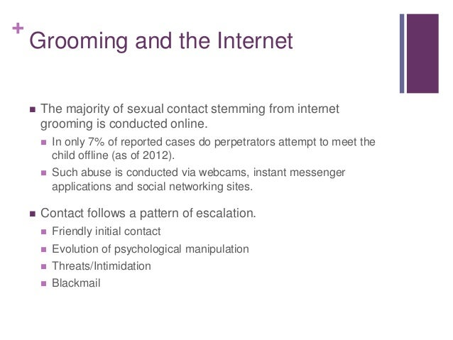 internet grooming facts