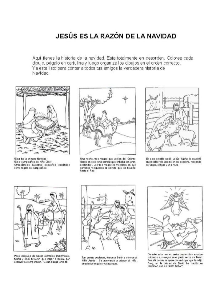 Dibujos De Navidad Con Jesus.Jesus Es La Razon De La Navidad