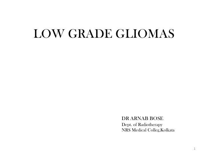 Optic Nerve Glioma