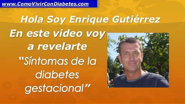 19 síntomas de la diabetes gestacional