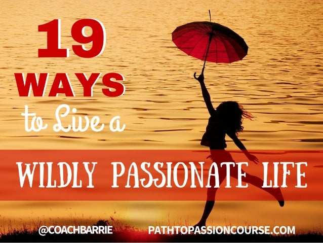 GET STARTED WITH BARRIE DAVENPORT'S… YES, I WANT THE QUIZ Get Instant Access LIFE PASSION QUIZ Find Out Your Personal Score