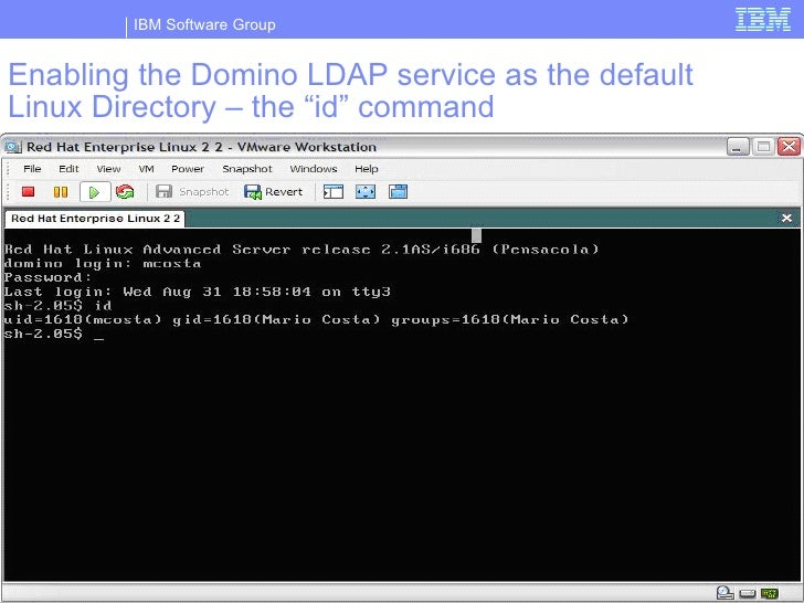 Configuring Domino To Be An Ldap Directory And To Use An