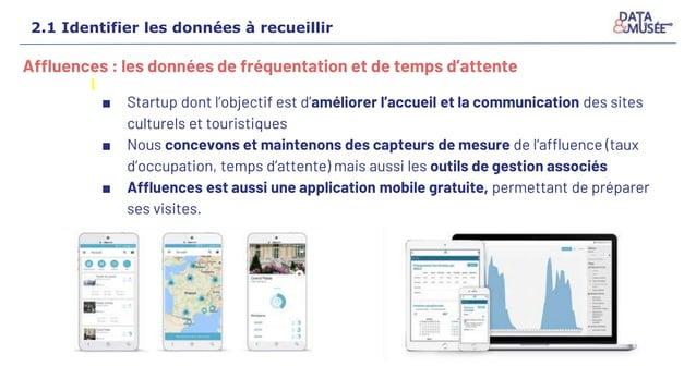 Affluences : les données de fréquentation et de temps d'attente ■ Startup dont l'objectif est d'améliorer l'accueil et la ...