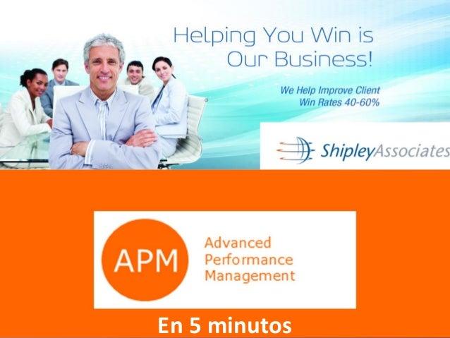 APM y Shipley En 5 minutos